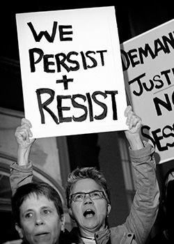 we persist and resist