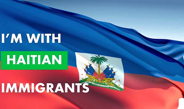 i'm with haitian immigrants